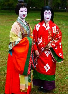 "geisha-kai: "" Jidai Matsuri 2014 (Festival of the Ages) [SOURCE] Every 22nd October geiko and maiko of two districts dress up in historical costumes and take part in big parade. Geiko Chisako played a..."