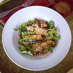 Crispy Sardine Salad + Nourished cookbook review