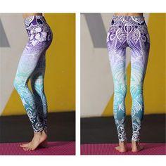 Bohemian Yoga Leggings