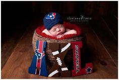 Houston Texans Newborn Portraits, San Antonio Photographer, football, Texans fan, baby photos