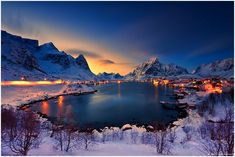 Stunning Shots of Reine, the Most Beautiful Village in Norway