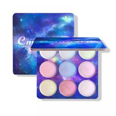 9 Colors Highlighter Illuminator Face Makeup Brighten Contouring Highlighter Powder Palette Bronzer Glow Kits Cosmetics New Face Contouring Makeup, Face Makeup, Bronzer, Face Brightening, Glow Kit, Setting Powder, Palette, Eyeshadow, Maquillaje
