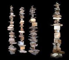 Driftwood stacks
