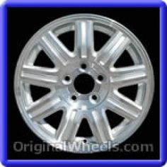 Chrysler Town & Country 2006 Wheels & Rims Hollander #2211A  #Chrysler #TownCountry #ChryslerTownCountry #2006 #Wheels #Rims #Stock #Factory #Original #OEM #OE #Steel #Alloy #Used