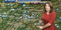 Meteorologist shuts down viewer who complained about her appearance