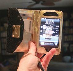 I found it! The perfect iPhone wristlet form Michael Kohrs! TJ Maxx, $39!