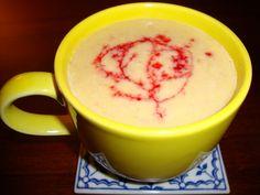 Mirabella's Pantry: raspberry white hot chocolate