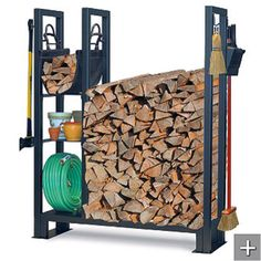 I want this! http://www.frontgate.com/utility-outdoor-wood-rack/outdoor-decor-accessories/fire-pits-outdoor-heating/log-holders-carts/24151?listIndex=3