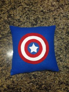 cm cushion cover made of felt . cm cushion cover made of felt . Funky Cushions, Felt Pillow, Superhero Room, Kids Tents, Baby Pillows, Disney Crafts, Designer Pillow, Soft Furnishings, Decorative Pillows