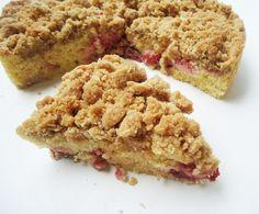 Strawberry Crumb Cake