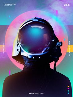 cyberpunk spaceman astronaut illustration concept art character design