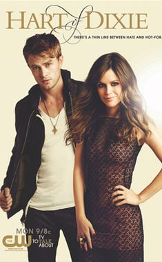 Hart of Dixie, Mon 8pm CW. Had to find a poster featuring The OC alumn,Rachel Bilson (the star of the show), and my friend, Wilson Bethel, because, trust me, their will they/won't they dance is the best thing about this show. The show is light and cute, and I enjoy it. Period.