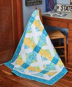 Soft Plaid Quilt Pat
