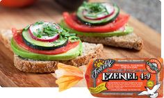 Looking for Ezekiel bread ingredients? Food For Life bakes the best-tasting Ezekiel Sprouted Bread. Discover why this is the healthiest bread on the market! What Is Ezekiel Bread, Ezekiel Bread Benefits, Clean Eating Recipes, Healthy Eating, Healthy Recipes, Healthy Options, Healthy Habits, Healthy Meals, Recipes
