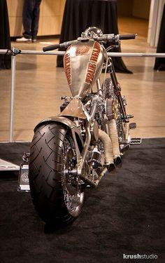 Chopper/bobber TrueReligion done by Daniel Jones