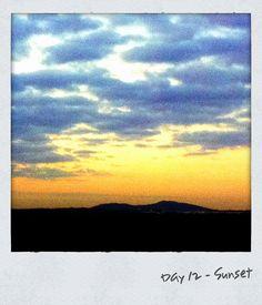Day 12 - Sunset