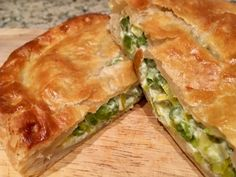 Before I start let me just say that today's meal is delicious. Basically it is just peas in pastry, and frozen peas and pastry at that! Trust me therefore when I say that it is well worth giving it a go, you will not regret it…..…