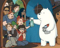 We Bare Bears Human, Ice Bear We Bare Bears, 3 Bears, Cute Bears, Pardo Panda Y Polar, Bear Gif, Teddy Bear Cartoon, We Bare Bears Wallpapers, Funny Bears