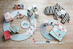 Tapis rond en mousse bleu - Done by deer Mousse, Done By Deer, Deco Originale, Mini, Cards, Design, Instagram, Childhood Toys, Bon Weekend