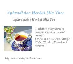 Aphrodisiac Herbal Mix Tea
