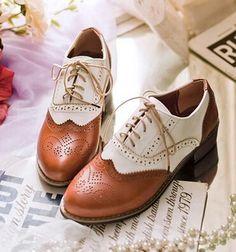 Cuero Blanco Marrón Vintage Negro Clásico tallada Square Chunky tacón alto Oxford Zapatos para las mujeres más el tamaño 34 40 41 42 43 9 10 11-inOxfords de Zapatos en Aliexpress.com | Grupo Alibaba
