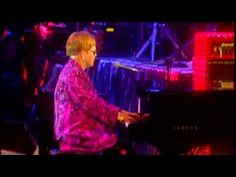 """Elton John - Philadelphia Freedom (Live-HQ) """" I used to be a rolling stone ya know. If the cause was right, I'd leave to find an answer on the road"""""""