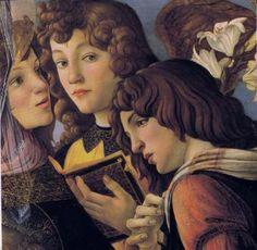 Madonna of the Pomegranate (detail) - Sandro Botticelli