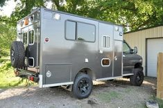 Converted ambulance. links to interesting info about conversion.