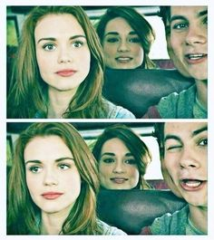 Stiles' face is too cute