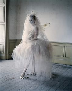 Imogen Morris Clarke by Tim Walker for Vogue Italia