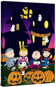 Peanuts Halloween By Charles M Shultz Graphic Art