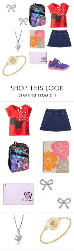 """""""Creepypasta:What Lazari would wear to school"""" by ender1027 ❤ liked on Polyvore featuring Disney, Splendid, NIKE, My Little Pony, Mead, KC Designs and Carolee"""