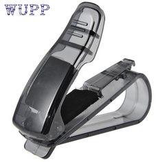 Car-styling hot Car Sun Visor Glasses Sunglasses Ticket Receipt Card Clip Storage Holder clamp drop ship sale #Affiliate