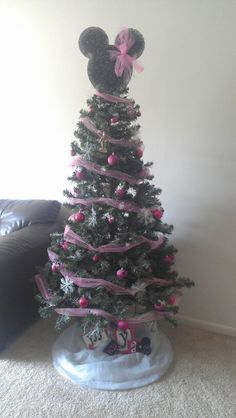 Minnie Mouse Christmas tree | Christmas | Pinterest | Minnie mouse ...