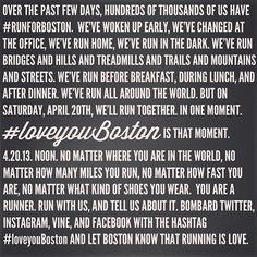 #LoveYouBoston