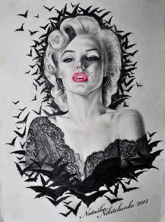 I Think I REALLY want this as a tattoo. Art By: Natasha Nikitchenko