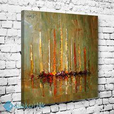 Abstract Renkli Yelkenler Tablo #soyut_kanvas_tablo