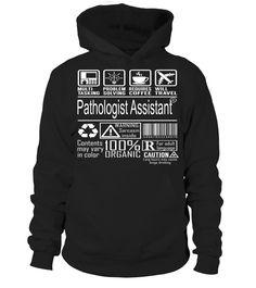 Pathologist Assistant Multitasking Job Title T-Shirt #PathologistAssistant