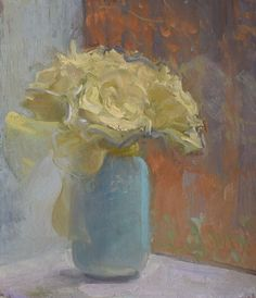 """Bouquet on a Sill, 11/20/2015"" by Duane Keiser"