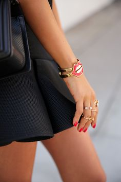 Red Lips Bracelet