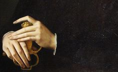 Agnolo di Cosimo (1503–1572), Portrait of a Young Man (detail), c. 1550 (x)