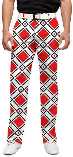 Mens Golfing Pants by Loudmouth Golf - Danger. Buy it   ReadyGolf.com 0ad94ac2a823