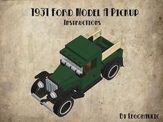 1931 Ford Model A Pickup Instructions | Flickr - Photo Sharing!