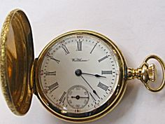 FINE WALTHAM POCKET WATCH