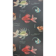 Aquarium, Papier peint Nina Campbell