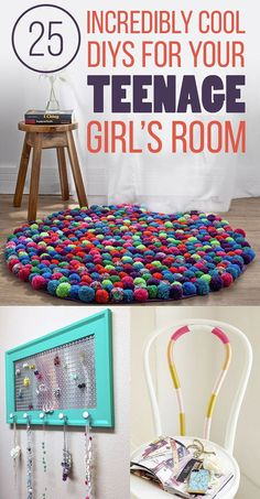 25 Incredibly Cool DIYs For Your Teenage Girl's Room