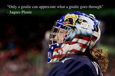 Only a goalie will understand. Team Usa Hockey, Women's Hockey, Hockey Players, Goalie Mask, Cool Masks, Cake Art, Mask Design, Helmets, Nhl