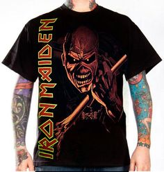 Iron Maiden, T-Shirt, The Trooper Monochrome