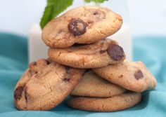 Real Mint Chocolate Chip Cookies Another original recipe from The Weiser Kitchen.com/where kosher traditions meet modern global tables