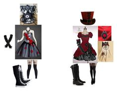 """Mad hatter costume party"" by yolo-its-sammy ❤ liked on Polyvore featuring Timeless, Pamela Mann, women's clothing, women, female, woman, misses and juniors"